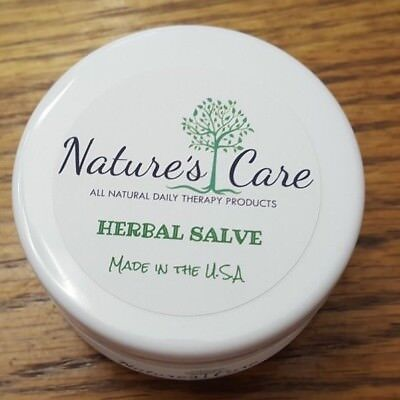 Nature's Care Herbal Salve 2oz Jewelweed, Yellow Root, POISON IVY ALL NATURAL