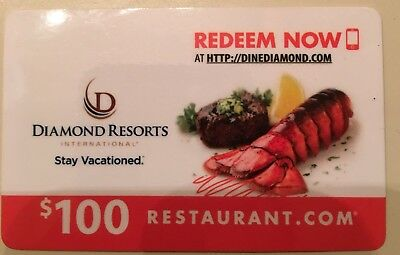 $100 value Gift Card from Restaurant.com for ONLY $75