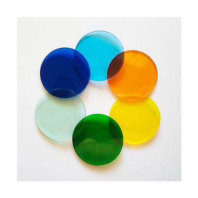 33.5mm Diameter Bausch and Lomb Microscope Color Filters
