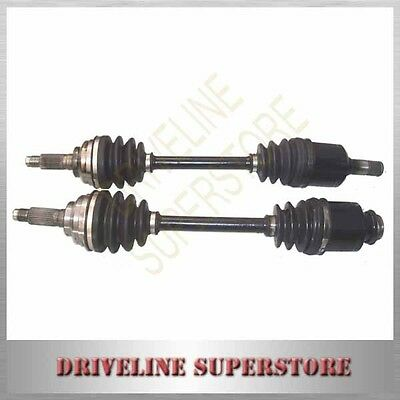 MAZDA 323 Astina CV JOINT DRIVE SHAFT A SET OF TWO FOR AUTO & MANUAL 1996-1998