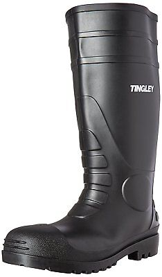 OpenBox Tingley 31151 Economy SZ12 Kneed Boot for Agriculture, 15-Inch, Black