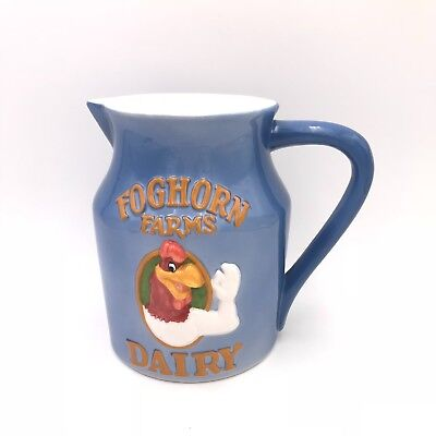 Foghorn Leghorn 1996 Warner Bros. Looney Tunes Blue Pitcher Farms Dairy