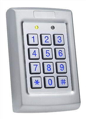 Rosslare ROS-ACQ41HB Standalone Controller 3x4 PIN Keypad; 3A Form C Relay