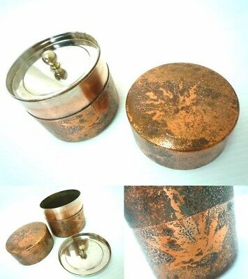 Pure copper made tea ceremony Autumn leaves Infusions tea tool Antique EMS F/S*