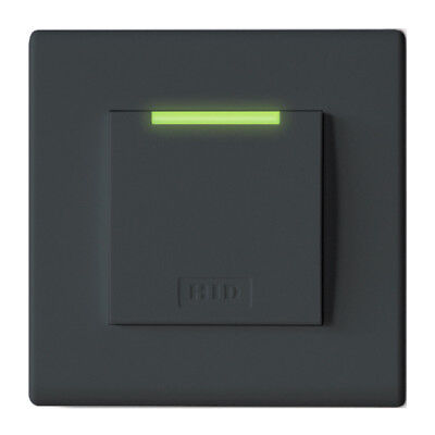 HID 95ANTNTEG0 iClass Decor Reader SE Decor; R95A; Flush Mount; Grey