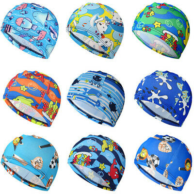 1pc Unisex Adult Child Easy Fit Swimming Hat Swim Cap Bathing Micro Fiber Fabric