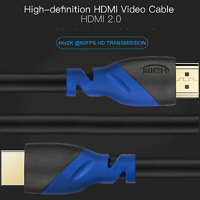 [Heavy Duty] Ultra Speed 4K HDMI Cable 2.0b Pure 2160P 3D ARC CL3 For HDTV LOT