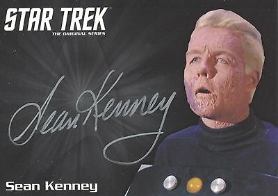 Star Trek TOS 50th Anniversary (2016) Sean Kenney autograph