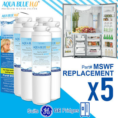 X4 ECO AQUA EFF-6022A FOR GE MSWF FRIDGE WATER FILTER GENERIC REPLACEMENT