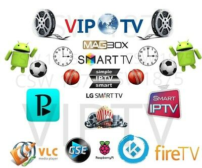 IPTV 1 month SPORTS ONLY Smart IPTV Magbox Samsung/LG Sony Android UK/US Canada
