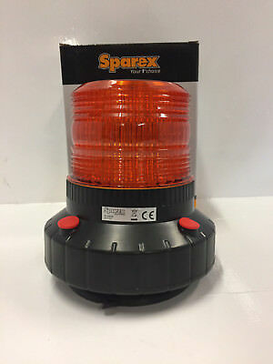 Rechargeable Beacon - Sparex LED, 12V/24V Magnetic S.23830