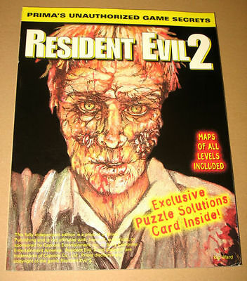 Resident Evil 2 Primas Strategy Guide