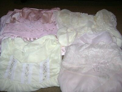 Vintage Gowns/Robes...Vanity Fair/Shadowline...Small/Large..Pink/Yellow Set of 9