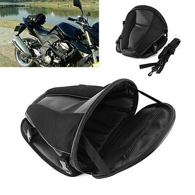 Portable Motorcycle Waterproof Back Seat Carry Bag Luggage Tail Saddlebag z