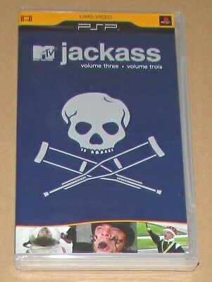 Jackass: Vol. 3 (Sony PSP UMD Video) Brand New / Fast Shipping