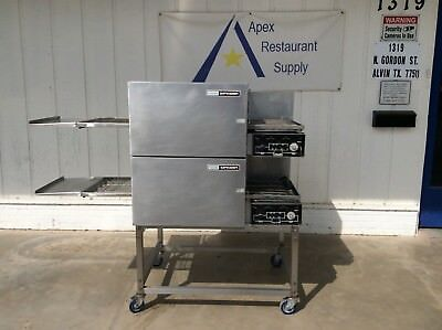 Double Stacked Lincoln Model 1116 Impingement Conveyor Oven #2986
