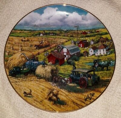 Down On The Farm Plate Danbury Mint 1991 Lowell Davis