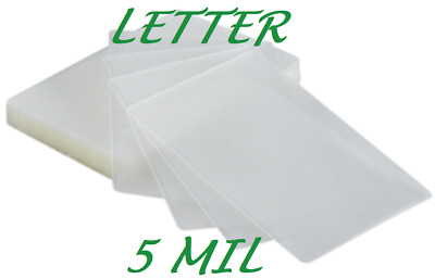 25 Letter Laminating Pouches Laminator Sleeves 5 Mil 9 x 11-1/2 Quality