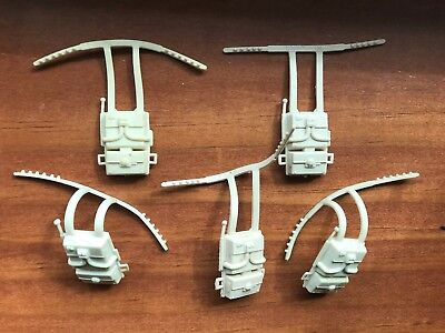 Vintage Kenner Star Wars ESB Hoth Survival Backpacks mailaway 1980 lot 5