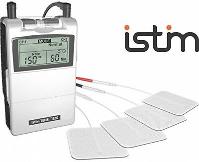FDA Cleared TENS Unit IStim EV-820 TENS Machine For Pain Management, Back Pain