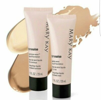 Mary Kay Timewise Foundation Matte And Luminous Foundation * Choose Your Shade