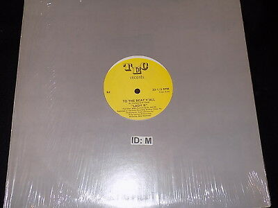"Lady B To The Beat Y'all Unsealed New 12"" U.s Tec Records Single"