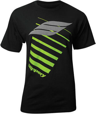 Slippery Wetsuits - Men's Short Sleeve Tee T-Shirt (Black) XL (X-Large)