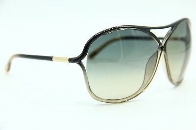 Tom Ford Tf 184 20B Vicky Brown Gradient Authentic Sunglasses 65-10 W/case