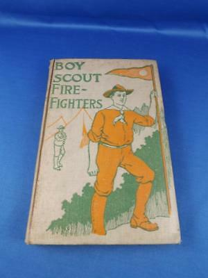 Boy Scout Fire Fighters Hardcover Book 1912 Jack Danbys Bravest Deed