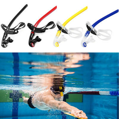 Swimming Silicone Center Snorkeling Adjustable Training Snorkel Breathable Tube