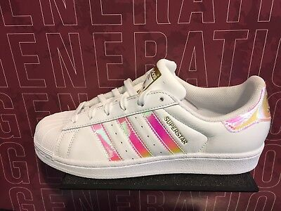 adidas superstar holographic rosa