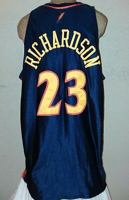 huge selection of 5e297 6ca90 REEBOK NBA GOLDEN State Warriors #13 Jason Richardson Authentic Jersey Mens  56