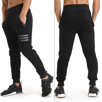 AU Ship! Men's Gym Pants Sweatpants Fitness Jogger Workout Bodybuilding trousers