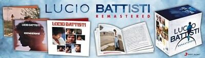 Lucio Battisti Remastered  La Discografia Completa 19 Cd/dvd In Box Dal 31.07.18