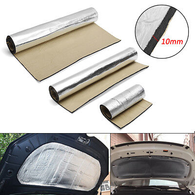 10mm Car Van Sound Proofing Deadening Heat Shield Insulation Noise Material Mat