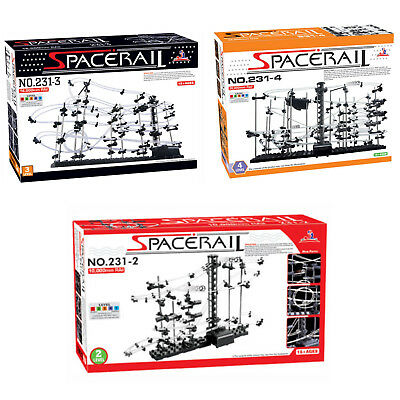 Level2/3/4 10/16/26M Space Rail Marble Roller Coaster Ball Set Spacerail Version