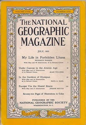 national geographic-JULY 1955-MY LIFE IN FORBIDDEN LHASA.