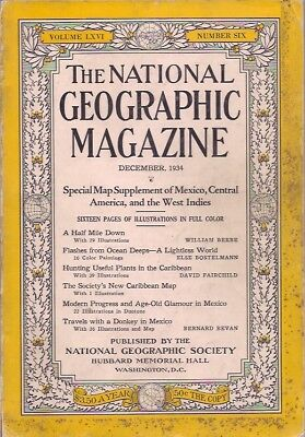 national geographic-DEC 1934-TRAVELS WITH A DONKEY IN MEXICO.