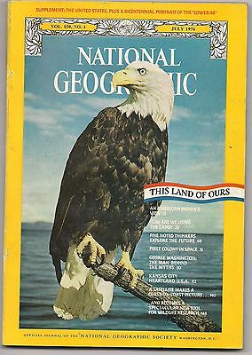 national geographic-JULY 1976-THIS LAND OF OURS.