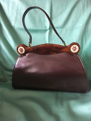 Lodix Of England Handbags Taste Brown Leather Vintage Fashion Marching Purse