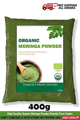 moringa oleifera powder certified organic leaf super food pure free shipping