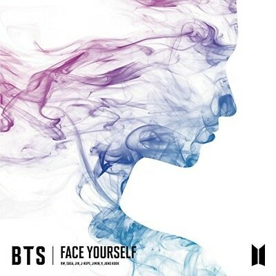 New BTS FACE YOURSELF CD booklet Japan