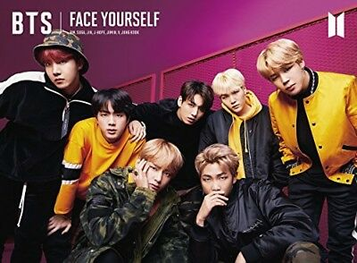 LIKE New BTS FACE YOURSELF Limited Edition Type B CD DVD Booklet Sticker Japan