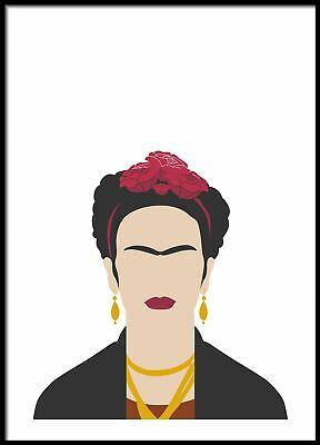 Frida, Kitchen Wall Decor, Teen Room Poster, Geometric Prints, Nordic Wall Print
