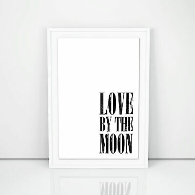 Love By The Moon, Kitchen Wall Art, Illustration Art, Prints And Posters