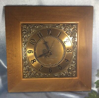 Vintage General Electric Telechron 1960s Electric Wall Clock: Works Great. #8240