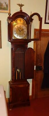 Gregory of Basingstoke 1790 BRASS DIAL  8 DAY LONGCASE GRANDFATHER CLOCK