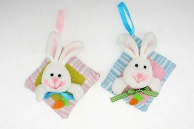 48 x Easter Bunny hanging Pillow soft decoration 2 astd Bulk Wholesale Lot