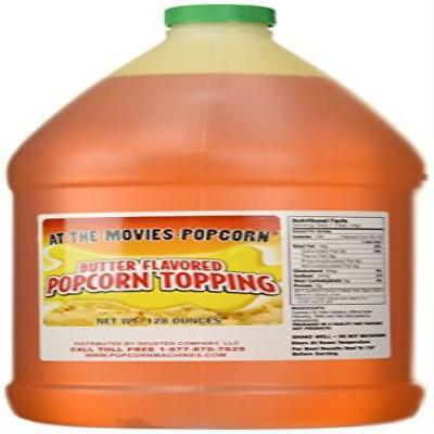 Butter Flavor Popcorn Topping Oil (Gallon) At-The-Movies-Popcorn US SELLER New