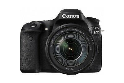 Canon EOS 80D Digital SLR Kit with EF-S 18-135mm f/3.5-5.6 Image...